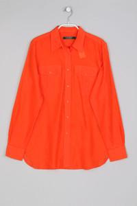 LAUREN RALPH LAUREN -  hemd-bluse  aus seiden-mischung - S