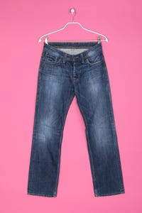 Pepe Jeans London -  coated straight cut jeans  - W30