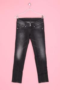 Pepe Jeans - used look-jeans mit logo-stickerei - W29