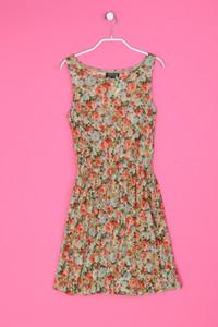 TOPSHOP - kleid mit floralem muster - D 34