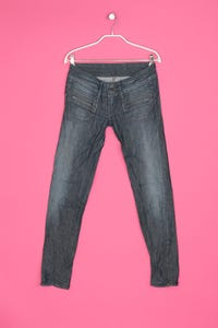 Pepe Jeans - jeans im used look - W27