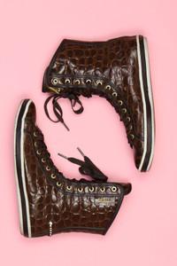 VICINI - high-top sneakers mit logo-badge -