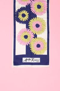Melle Ricci Paris - seiden-schal mit floralem muster -