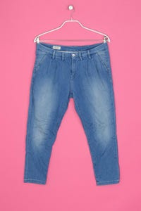 Pepe Jeans London - used look cropped jeans - W30