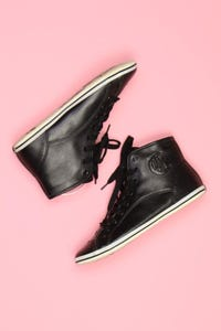 Buffalo LONDON - high-top sneakers mit logo-applikation -
