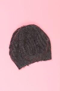 Massimo Dutti - strick-mütze mit wolle -