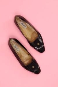 BALLY - vintage-loafer mit logo-applikation -