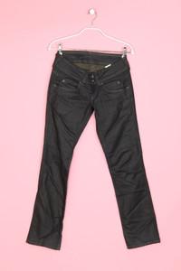 Pepe Jeans London - jeans aus baumwoll-mix mit logo-stickerei - W27