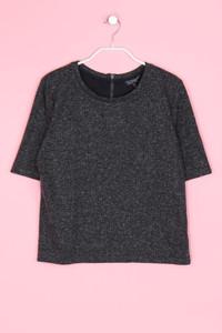 TOPSHOP - kurzarm-shirt mit leinen - D 38
