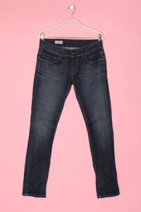 Pepe Jeans - dark denim skinny-jeans im used look - W29