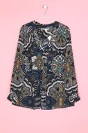 H&M - hemd-bluse mit floralem muster - D 36
