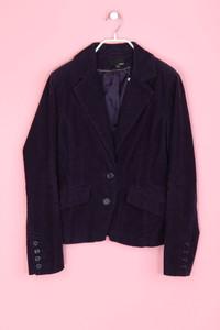 H&M - cord-blazer mit schlitz - D 40