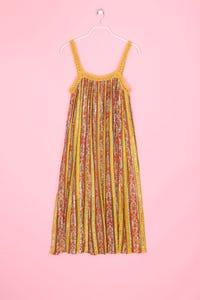 ZARA WOMAN - hippie-kleid mit blumen-print - M