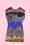 MANGO CASUAL - strand-kleid mit paisley-print - S