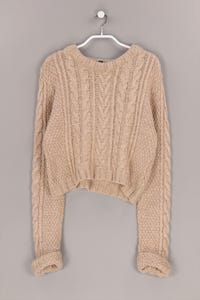 TOPSHOP - cropped-strick-pullover - D 36