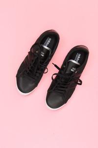 adidas neo - low-top sneakers mit spitzen-einsatz -