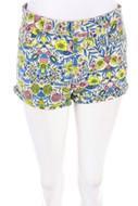 H&M - jeans-shorts mit blumen-print - D 36