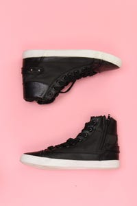 Ohne Label - high-top sneakers mit nieten -