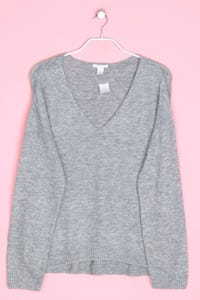 H&M - oversize-strick-pullover mit wolle - XS