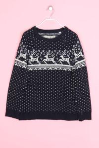 Jack Wills - norweger-strick-pullover mit lambswool - D 38