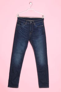 LEVI STRAUSS & CO. - used look straight cut jeans - W29