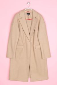 TOPSHOP - blazer-mantel mit wolle - D 38