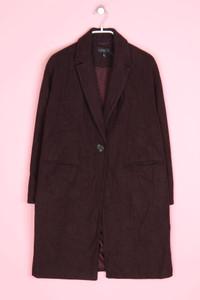 TOPSHOP - blazer-mantel mit wolle - D 36
