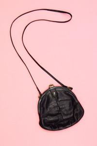 ERELLE - vintage-umhänge-tasche aus echtem leder -