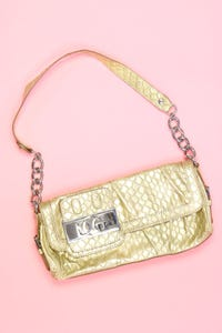 GUESS - handtasche mit metallic-effekt - ONE SIZE