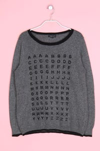 TOPSHOP - strick-pullover mit angora - D 40