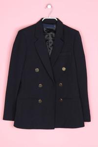 ZARA WOMAN - blazer im marine-stil mit wolle - M