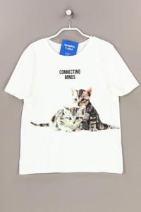 ZARA - kurzarm-shirt mit print - S