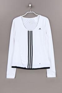 adidas - longsleeve-shirt mit logo-print - D 38