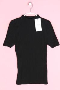 Zara Knit - kurzarm-strick-pullover - D 34-36
