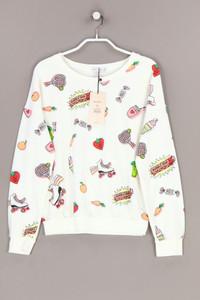 Bershka BSK GIRL - sweatshirt mit print - S