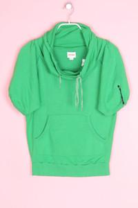 DIESEL - kurzarm-sweatshirt mit rollkragen - S