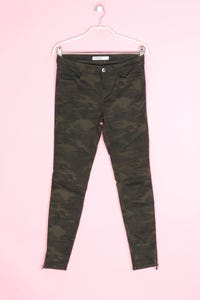 ZARA - camouflage-jeans mit stretch - D 36