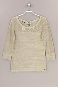 IKKS - strick-pullover mit metallic-effekt - S