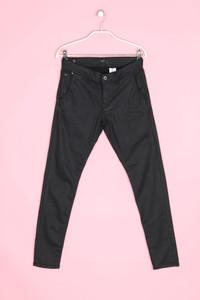 Pepe Jeans London - coated boyfriend-jeans mit logo-badge - W27