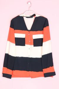 ZARA - bluse mit streifen - S