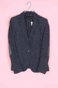 ZARA - baumwoll-blazer mit reverskragen - M