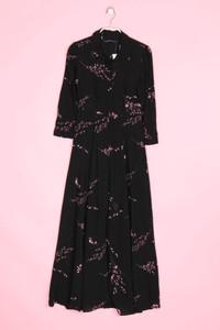 ZARA WOMAN PREMIUM - kleid aus viskose mit floralem muster - XS