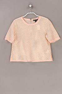 BANANA REPUBLIC - shirt aus lochspitze - S