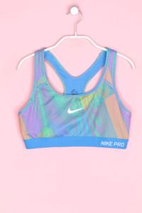 NIKE PRO - cropped-sport top mit print - M