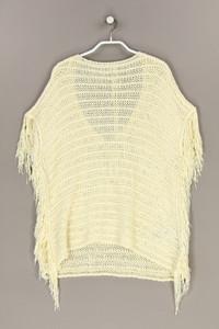 Zara Knit - strick-pullover mit fransen - S