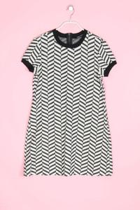 ZARA WOMAN - muster-kleid mit print - L