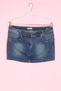 Pimkie - jeans-mini-rock im used look - D 40