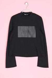 ZARA - sweatshirt mit statement-print - S