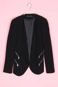 ZARA WOMAN - blazer mit zipper - M