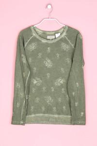 ZARA TRF - sweatshirt mit stickereien - S